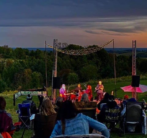 Live concert at Headwaters Farm