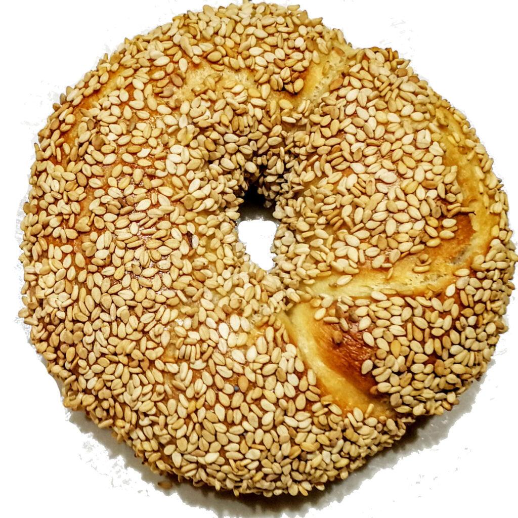 Half Dozen Sesame Bagels
