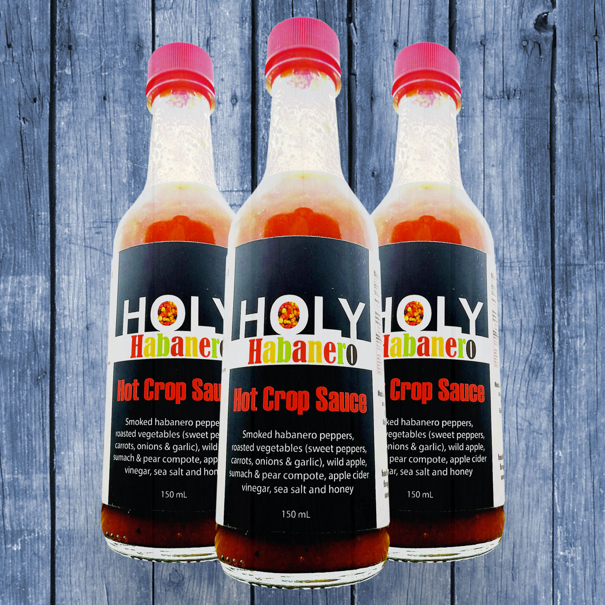 <strong>Holy Habanero<br>Hot Sauce<br><em>1 bottle</em>