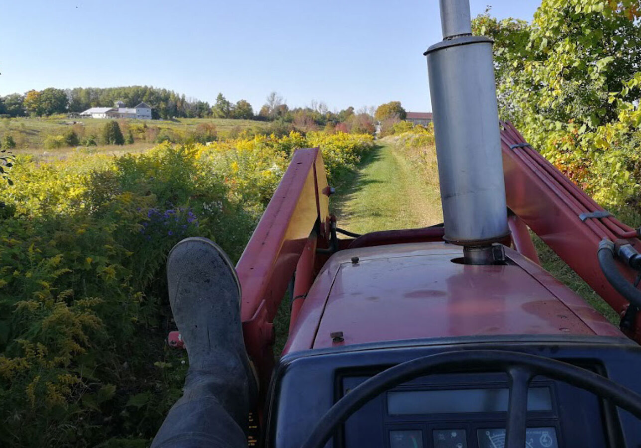 View of Headwaters Farm Tractor