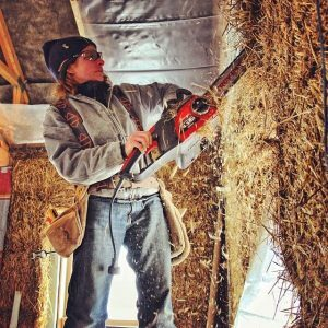 Working With Straw Bales